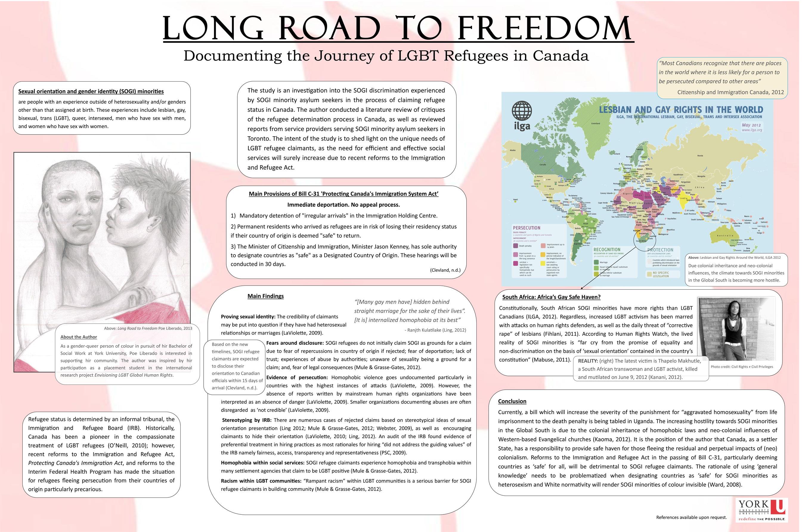 Poe Liberado's research poster