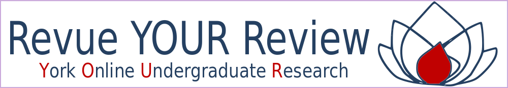 Revue YOUR Review. York Online Undergraduate Research